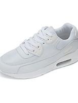 Unisex-Sneakers-Casual-Comoda-Piatto-PU (Poliuretano)-Nero / Rosso / Bianco / Verde chiaro