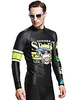 Sport Herrn Bademode / Neoprenanzug / Oberteile Taucheranzug UV-resistant / Schweißableitend / Sanft / Komfortabel / SonnenschutzDive