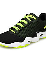 Men's Sneakers Spring / Fall Comfort Tulle Athletic Flat Heel Lace-up Blue / Green / Black and White Basketball