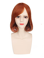 Brown Color Afro Women Synthetic Wigs Fashion Cosplay Wigs
