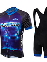 Sports Bike/Cycling Bib Shorts / Jersey  Shorts / Clothing Sets/Suits Men's / Unisex Short Sleeve Breathable / Quick Dry