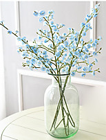 Hi-Q 1Pc Decorative Flower Campanula Wedding Home Table Decoration Artificial Flowers