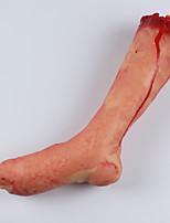 1pc mano rotta piede rotto per festa di halloween costume colore casuale