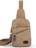 Men Canvas Outdoor Sling Shoulder Bags