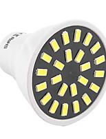 5W GU10 LED-spotlampen MR16 24 SMD 5733 400-500 lm Warm wit / Koel wit Decoratief AC 220-240 / AC 110-130 V 1 stuks