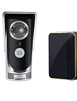 WiFi Smart Video Doorphone 0.3Mega Pixels Wireless Video Doorbell AP Intercom System Rainproof Android IOS APP Mobile