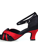 Non Customizable Women's Dance Shoes  Leatherette Latin / Dance Sneakers Sneakers Chunky Heel Practice