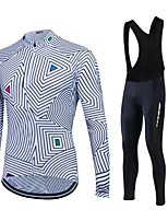Sports® Cycling Jacket Women's / Men's / Unisex Long SleeveBreathable / Thermal / Warm / Quick Dry / Fleece Lining / Moisture