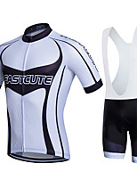 Sports® Cycling Jersey with Bib Shorts Women's / Men's / Kid's / Unisex Short SleeveBreathable / Quick Dry / Moisture Permeability /