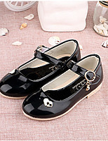 Flats Spring Fall Light Up Shoes PU Casual Flat Heel Others Black Red White Other