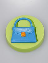 Food grade silicone mold bag shaped silicone fondant mold  bag shape cake decorators
