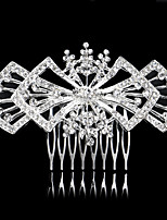 10*6cm Hair Combs with Butterfly Crystal for Lady Women Wedding Party Headpiece Hair Jewelry
