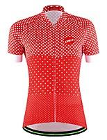Esportivo Moto/Ciclismo Pulôver / Moletom / Camisa/Fietsshirt / Blusas Mulheres / Homens / Unissexo Manga CurtaRespirável / Permeável á