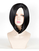 Fashion Short Straight Black Color Afro Women Cosplay Synthetic Wigs