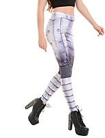 Для женщин Для женщин С принтами Legging,Полиэстер