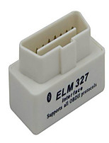 Mini ELM327 Super White With Bluetooth Marker Diagnostic Instrument Scanner OBD