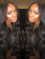 Peruvian Virgin Human Hair Wigs For Women New Arrival Lace Front Human Hair Wigs With Baby Hair Free Part Lace Wigs