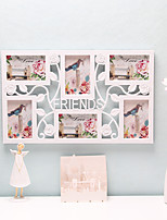 1PC Friends letter Original Europea-Style Cozy Holiday Gift Family Bureaux Counter Decorations Photo Frame