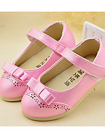 Розовый Белый ЗолотистыйПовседневный-Полиуретан-На низком каблуке На платформе-На платформе Light Up обувь-На плокой подошве
