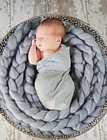 Newborn Prince Vintage Photography Prop Birthday Soft Blanket