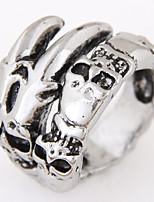 Anéis Fashion / Vintage Pesta / Diário / Casual Jóias Liga Masculino Anéis Grossos 1pç,8 / Tamanho Único Prateado