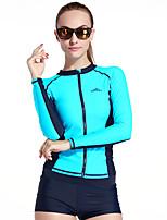 Sport Damen Bademode / Neoprenanzug / Oberteile Taucheranzug UV-resistant / Reibungsarm / Sanft / Sonnenschutz Dive Skins Under 1.5 mm