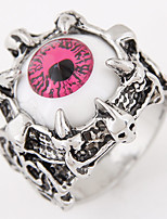 Men European Style Vintage Fashion Eye Eyebrow Band Ring