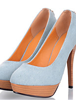 Women's Heels Fall Heels Denim Outdoor / Dress / Casual Stiletto Heel Others Blue Others