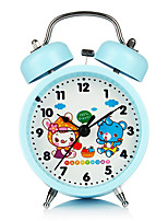 Candy Color Cartoon Fashion Creative Alarm Clock Night Light Children Bed Noctilucent  Alarm  Clock