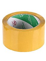 Two Bopp 55MM * 12MM Yellow Sealing Tapes Per Pack