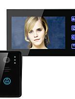 Эннио 7 видеосистема домофон домофон дверной звонок сенсорная кнопка дистанционного разблокировки ночного видения CCTV камеры безопасности