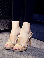 Women's Sandals Summer Sandals / Open Toe  Casual Stiletto Heel Others Silver / Gold Others