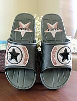 Men's Slippers & Flip-Flops Summer Slingback PVC Casual Flat Heel Others Blue / Green Others