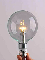 3 / 4 E26/E27 Lâmpada Redonda LED G95 3 SMD 3528 800 lm Branco Quente / Branco Frio Decorativa AC 220-240 V 1 pç