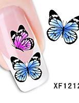 мода мило поделок водяной знак бабочки стикер подсказки ногтя искусства ногтя&наклейке инструменты маникюр ногтей