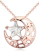 Thousands of colors Necklace Pendant Necklaces Jewelry Alloy Party Rose Gold 1pc Gift