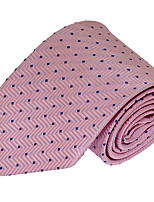 Men Wedding Party Polyester Silk Necktie Tie Jacquard