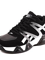 יוניסקס-נעלי ספורט-PU-נוחות-כחול אדום לבן-יומיומי-עקב שטוח