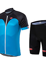 Sports Bike/Cycling Clothing Jersy Sets/Suits Men's / Unisex Short Sleeve Breathable / Quick Dry / Front Zipper