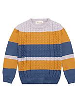 Boy's Casual/Daily Rainbow Sweater & CardiganCotton Winter / Spring Black / Blue