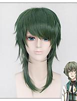 зеленый цвет лохматая ярко Cospaly аниме Custome париков - анимация mutsuki Hajime шесть тяжести июня