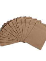 Сорок шесть 10см * 15.5cm мешки из крафт-бумаги в упаковке