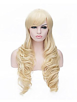 Cosplay wig direct selling fashionable gold