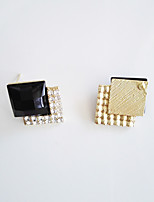 Earring Square,Jewelry 1 pair Fashionable / Personality / Adorable Alloy Gold / Silver Wedding / Party / Daily / Casual