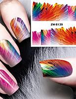 способа печати наклейки цветной рисунок фокус печать переброски вод ногтей
