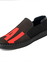 Men's Loafers & Slip-Ons Fall Comfort / Round Toe Canvas Casual Flat Heel Others Black Others