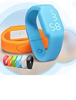 New Smart Bracelet W1 Manufacturer Direct Temperature Monitoring Wisdom Lights 3D Pedometer Thermometer