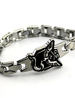 Jewelry Inspired by Pocket Little Monster PIKA PIKA Anime Cosplay Accessories Bracelet Silver Alloy Male Female