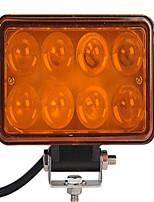 4 Auto Shot 24 W Leds Yellow 4 D Convex Lens LED Work Light