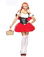 Costumes Déguisements thème film & TV Halloween Rouge Mosaïque Térylène Robe / Plus d'accessoires